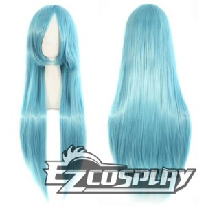 Touken Ranbu Ice Blue Cosplay Wig